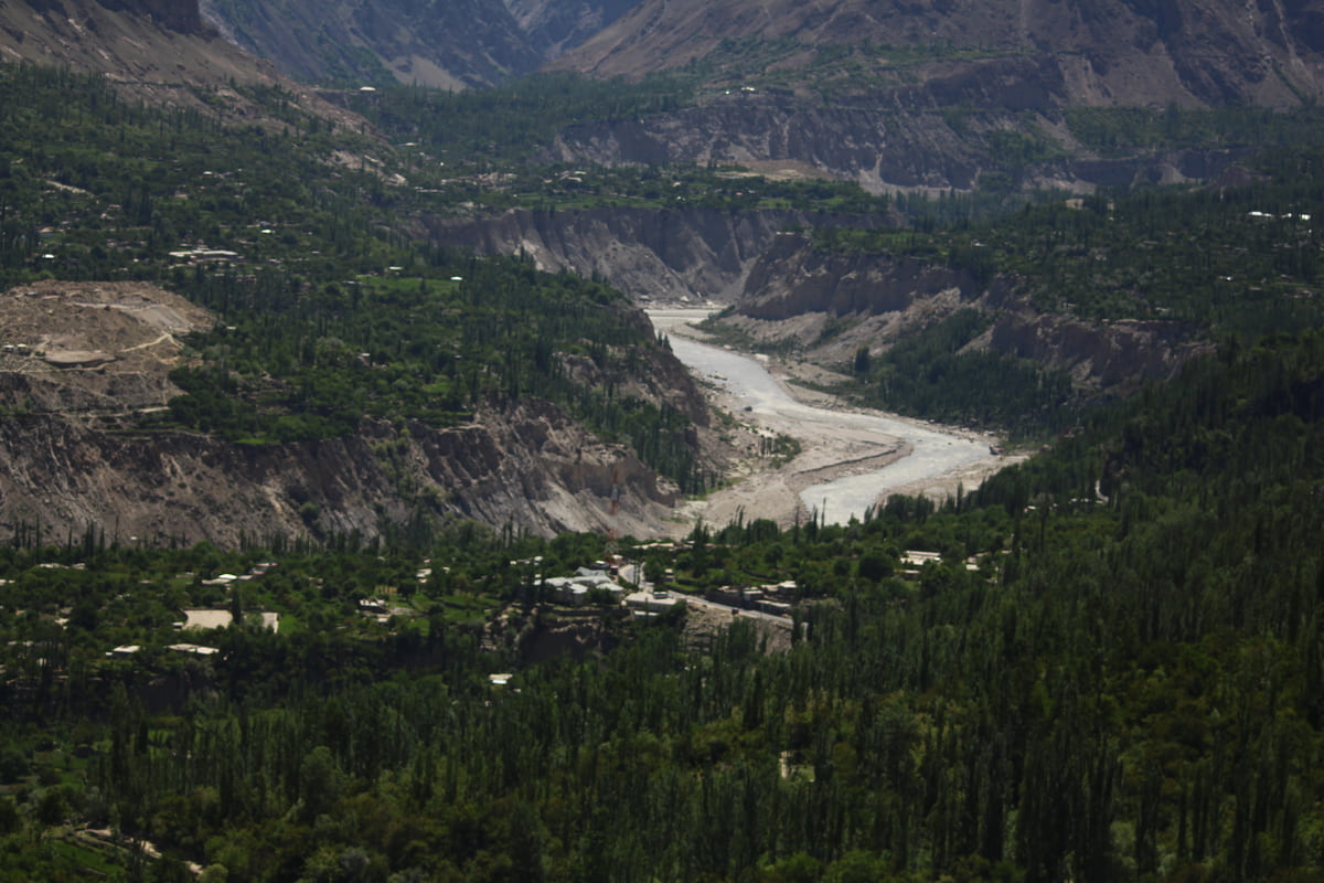 Hunza valley mountains 1