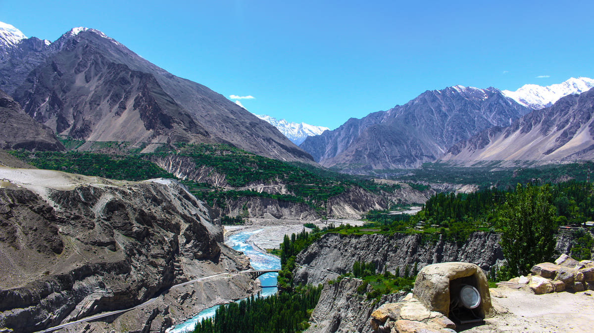 Hunza valley mountains 5