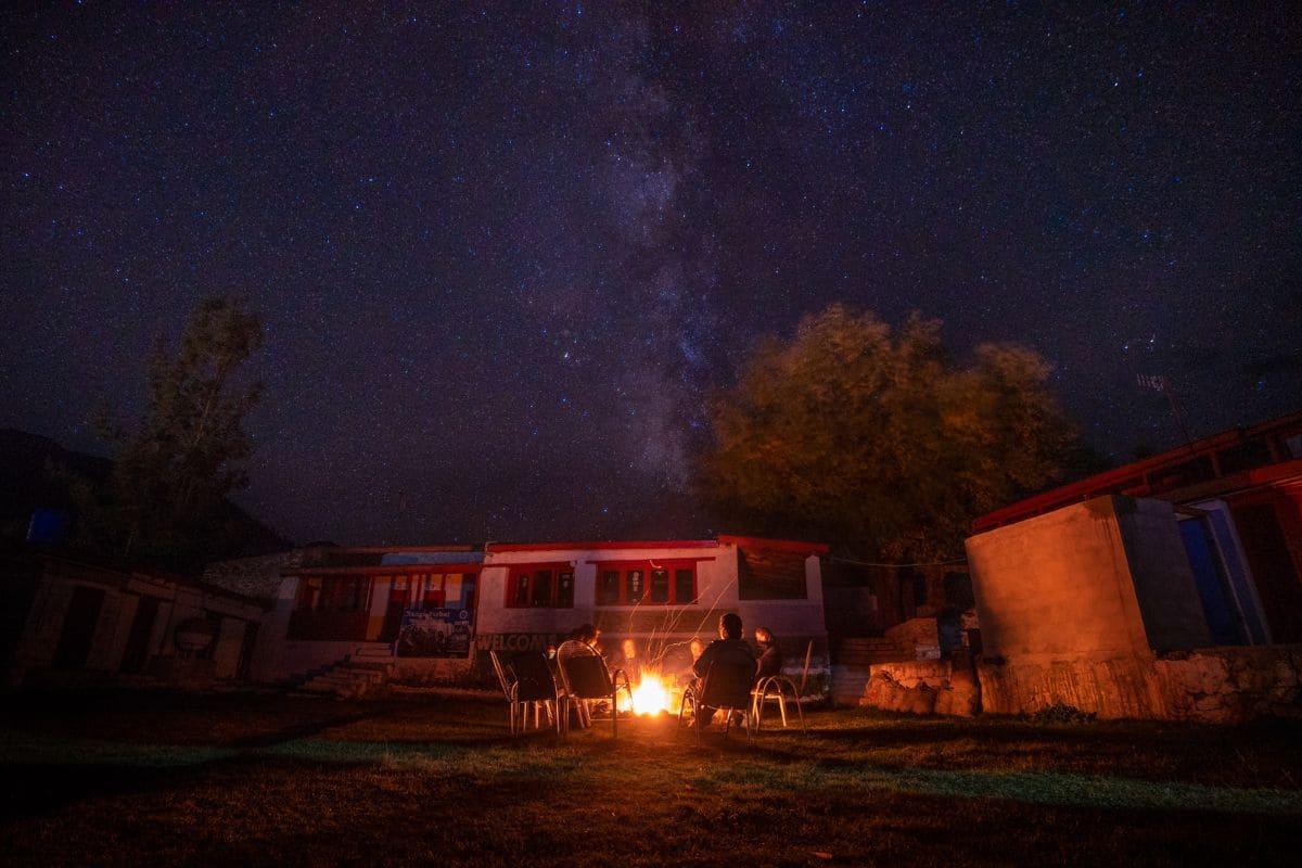 Night sky in Tarashing Astore Gilgit Baltistan