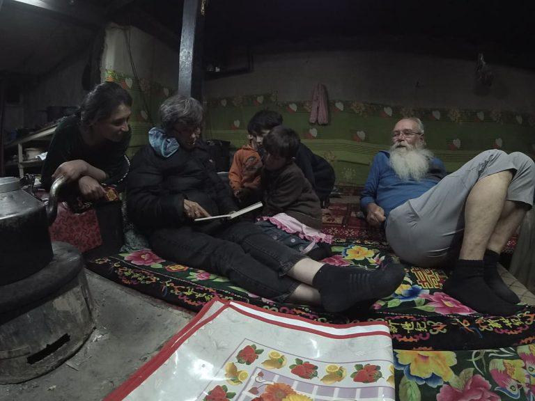 Tourists at homestay in Ghulkin Hunza