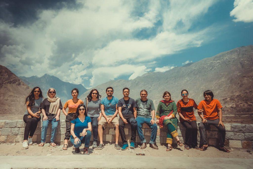 Tourists in Hunza - Gilgit Baltistan