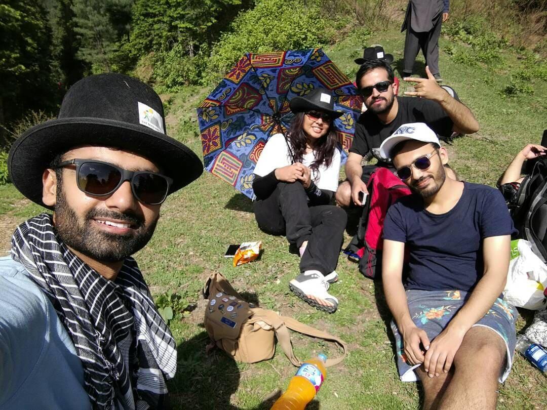 Tourists on trekking trip to Dagri Forest(9)