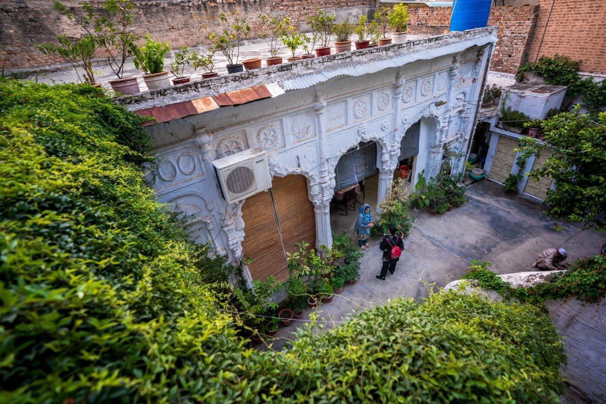 Traditional haveli in Rawalpindi