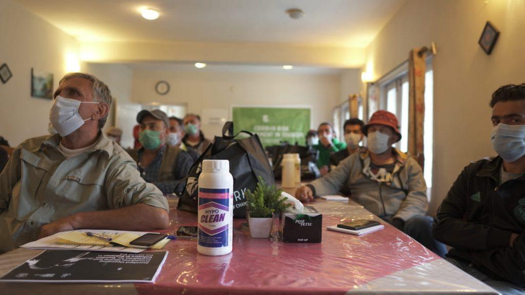 Training on COVID-19 awareness in Hunza - Gilgit Baltistan