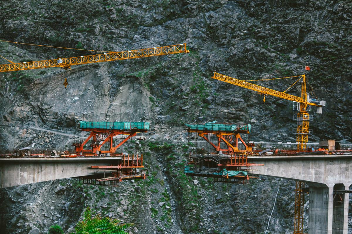 construction Hunza
