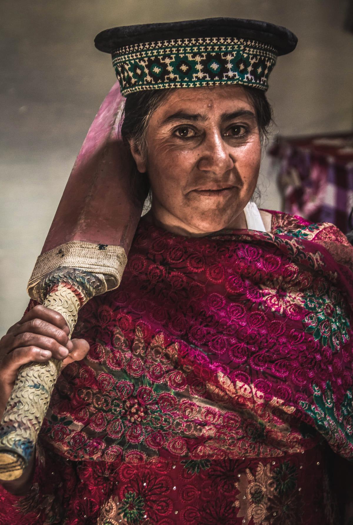 local woman Hunza